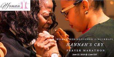 Hannah's Cry- Prayer Marathon