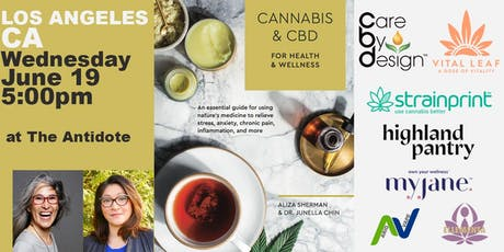 Cannabis and CBD Book Event at The Antidote on Melrose tickets