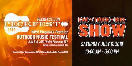 Peckfest 2019 Car, Truck & Bike Show tickets