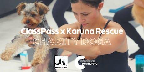 ClassPass Community HK x Karuna Rescue: Charity Doga Class tickets