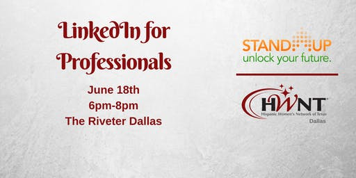 HWNT Dallas Stand Up    LinkedIn for Professionals