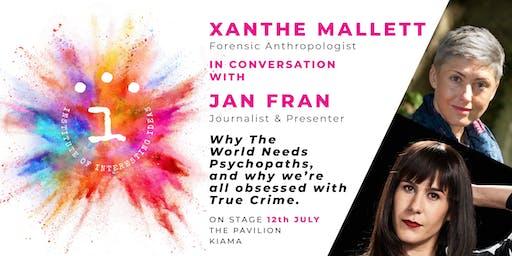 Institute of Interesting Ideas Presents Xanthe Mallett & Jan Fran