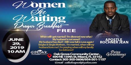 Women In Waiting (Prayer Breakfast) tickets