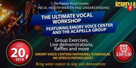 The Ultimate Vocal Workshop tickets