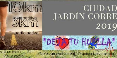 """Ciudad Jardin Corre 2019 """"Dejá tu huella"""""""