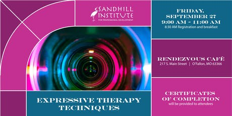 Expressive Therapy Techniques tickets