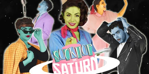 Sockhop on Saturn: A Cosmic 50s Immersive Experience