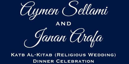 Aymen and Janan's Katb Al-Kitab (Religious Ceremony Wedding)