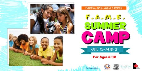 F.A.M.E. Summer Camp (Kids Session) tickets