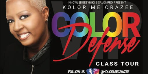 "KolorMeCrazee ""Color Defense Class Tour"" Memphis TN"