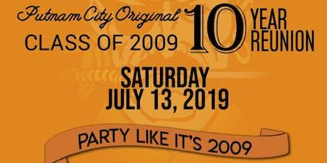 Putnam City High School 2009 - 10 Year Reunion tickets