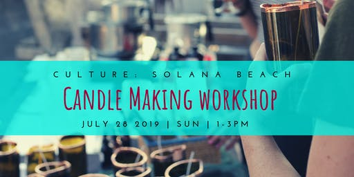 Candle Making Workshop @ Culture