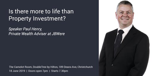Is there more to life than Property Investment?