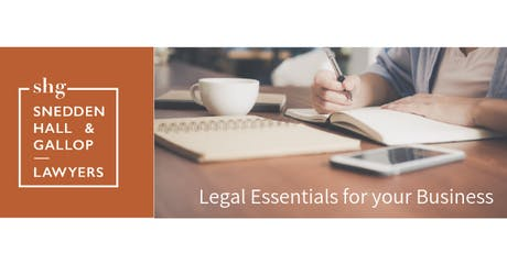 Legal Essentials for your Business tickets