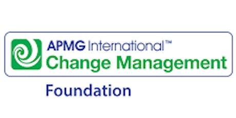 Change Management Foundation 3 Days Virtual Live Training  tickets