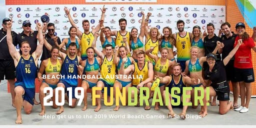 2019 World Beach Games Fundraiser for the Aussie Men