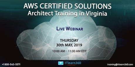 AWS Certified Solutions Architect Training in Virginia – Demo tickets