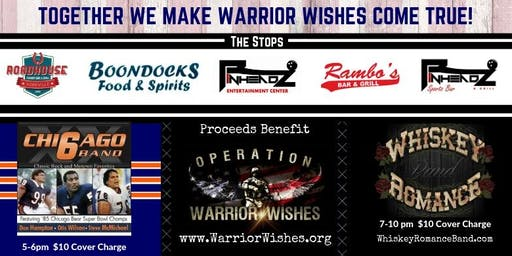 3rd Annual Warrior Wishes Ride for Warriors