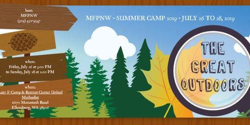 MFPNW - SUMMER CAMP 2019 - JULY 26 TO 28, 2019