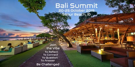 Bali Summit tickets