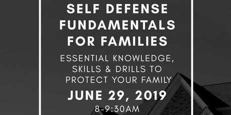 Self Defense Fundamentals for Families tickets