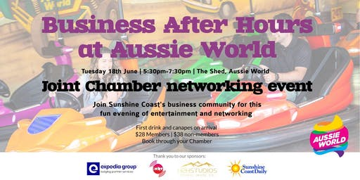 Business after hours at Aussie World