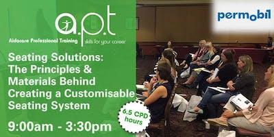 Mildura APT Seminar: Seating Solutions: The Principles & Materials Behind Creating a Customisable Seating System