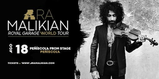 Ara Malikian en Peñíscola - Royal Garage World Tour