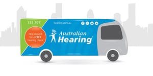 Australian Hearing Bus @ Rosny Library