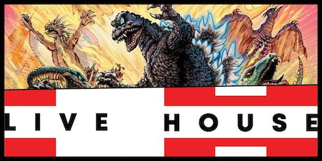 KAIJU SUMMER PARTY @ LIVE HOUSE HOLLYWOOD & 35mm DESTROY ALL MONSTERS Midnight at the Vista, Los Feliz tickets