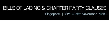 Bills of Lading & Charter Party Clauses tickets