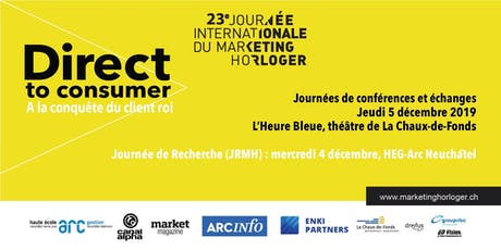Journée de Recherche en Marketing Horloger (JRMH) 2019 tickets