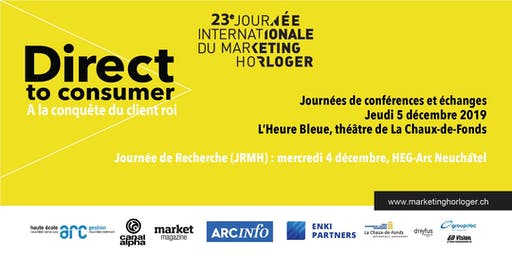 Journée Internationale du marketing horloger JIMH 2019