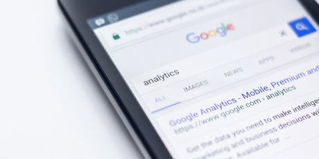 Google Analytics for Business Course tickets