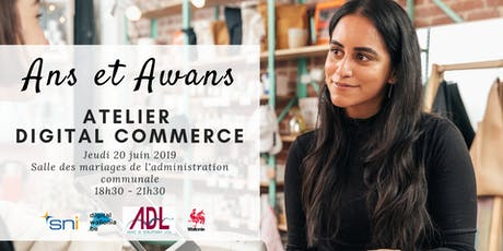 Ans et Awans | Atelier Digital Commerce tickets