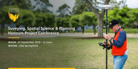 USQ Spatial Science, Surveying and Planning honours conference tickets