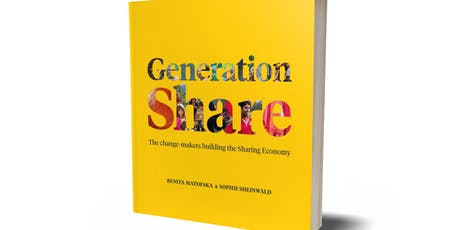 Generation Share Book Launch Lisbon with Benita Matofska & Sophie Sheinwald bilhetes