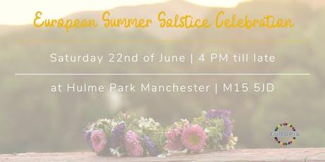 European Summer Solstice Celebration tickets