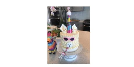 Llama Cake Decorating Workshop tickets