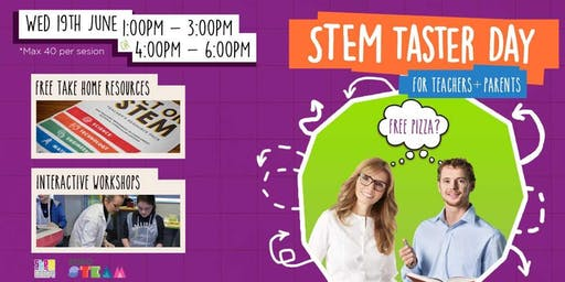 STEM Taster Day (For Educators and Parents)