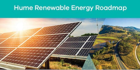 Hume Renewable Energy Roadmap Launch - Community dinner & celebration tickets