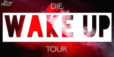 Die WAKE UP Tour - David Hejazi live in Nürnberg!