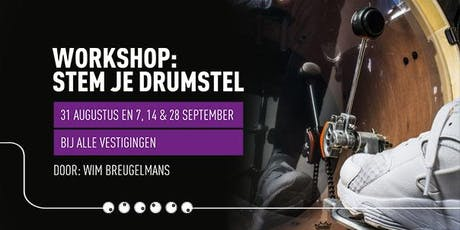 Demo 'Hoe stem ik mijn drumstel? tickets
