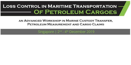 Loss Control in Maritime Transportation of Petroleum Cargoes tickets