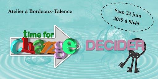 Les clés de la prise de décision ! (à Bordeaux - Développement performances)