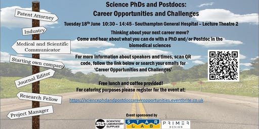 Science PhDs and Postdocs: Career Opportunities and Challenges