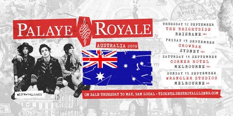 Palaye Royale Australian Tour 2019 tickets