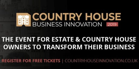 Country House Business Innovation 2019 tickets