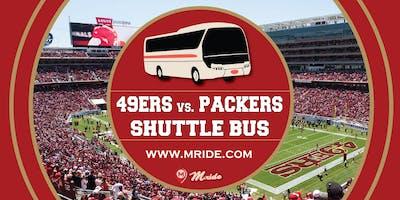Niners vs. Packers Levi's Stadium Shuttle Bus