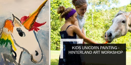 Kids Unicorn Painting Workshop